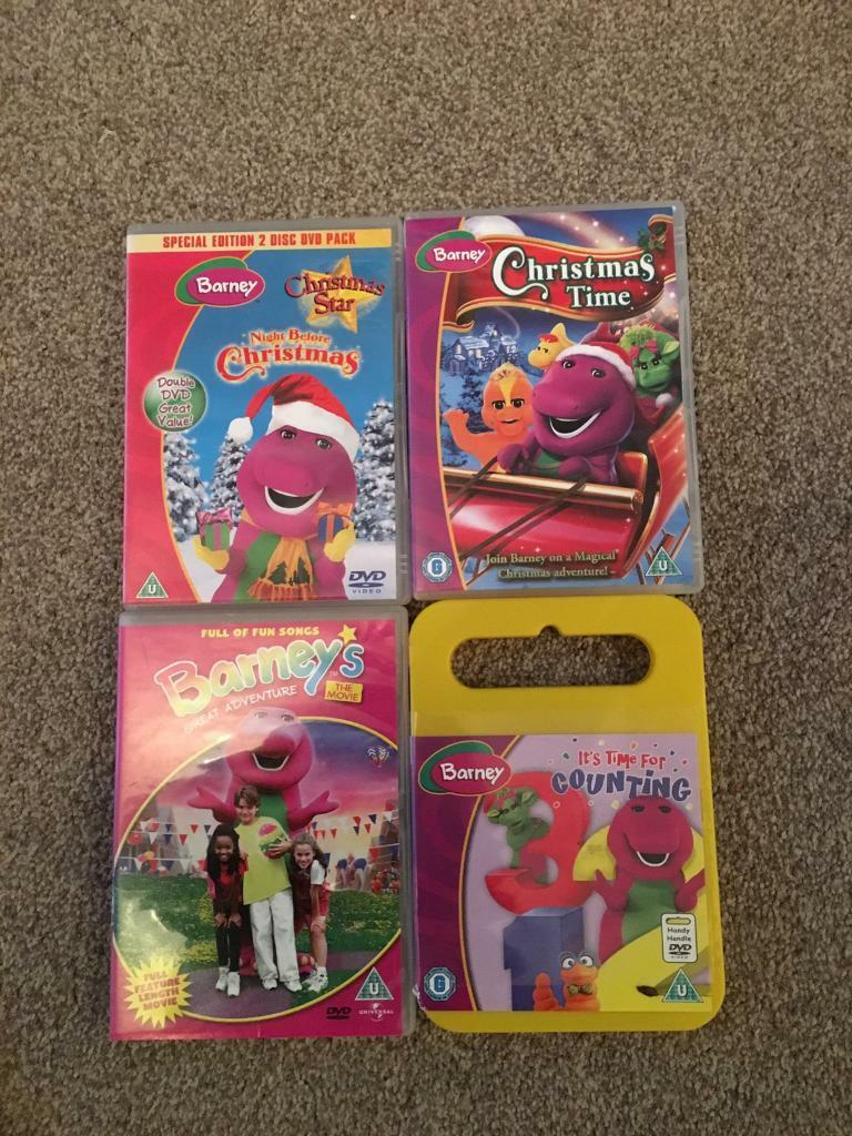 4 Barney DVD\'s | in Bradford, West Yorkshire | Gumtree
