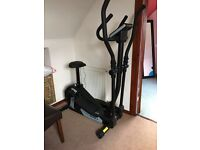 Nearly new Roger Black combined cross trainer and exercise bike