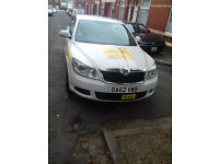 MANCHESTER PLATED SKODA OCTAVIA PRIVATE HIRE/TAXI