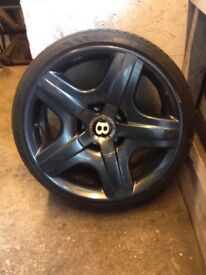 "Bentley 19"" alloys"