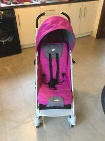 Joie purple stroller pushchair