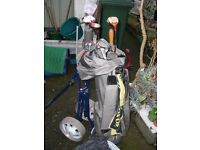 Spalding Golf Club Set including Trolley Bag