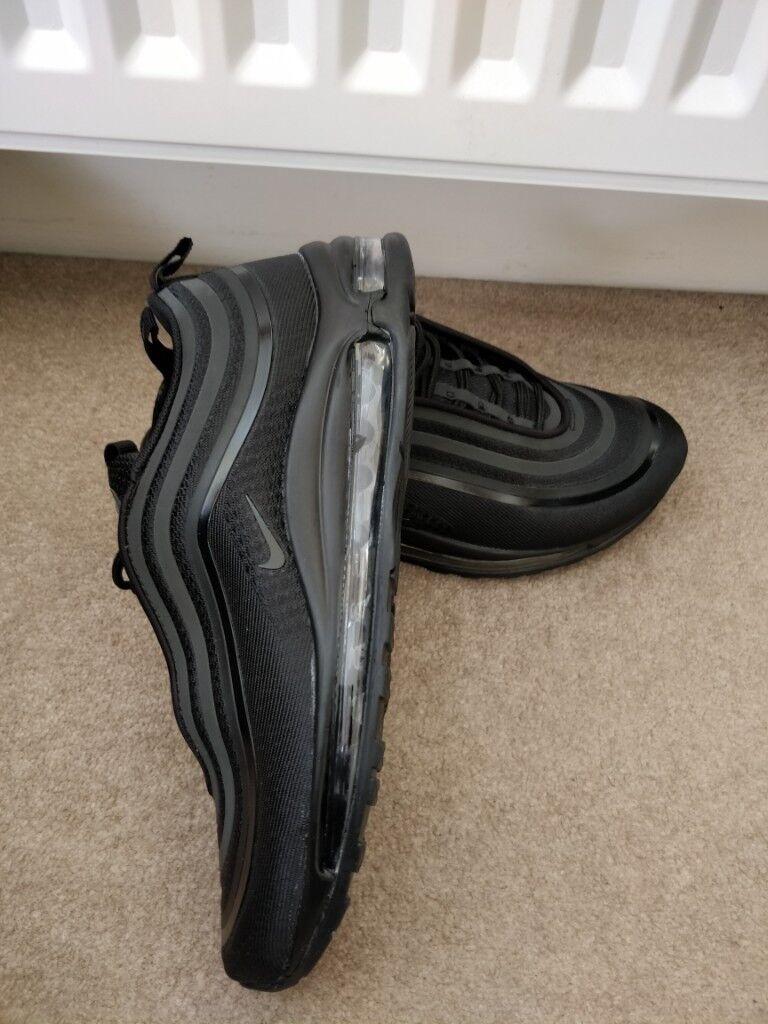 release date fc5c0 d5363 Men s Nike Air Max 97 Ultra Triple Black uk 8.5 Freepost
