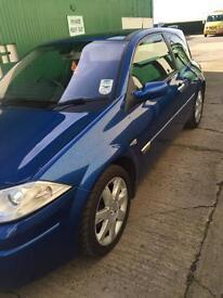 **facelift** Renault Megane 1.9 DCI Sport (130) diesel MOT- Aug