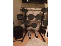 Yamaha DTX Electronic Drum Kits with PA