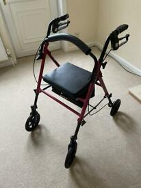 Wheeled Walker with seat