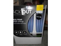 Blackout Curtains still in packet.