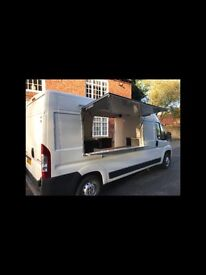 Catering vans or horseboxes fully kitted out ready to go to work. We can also convert your own van