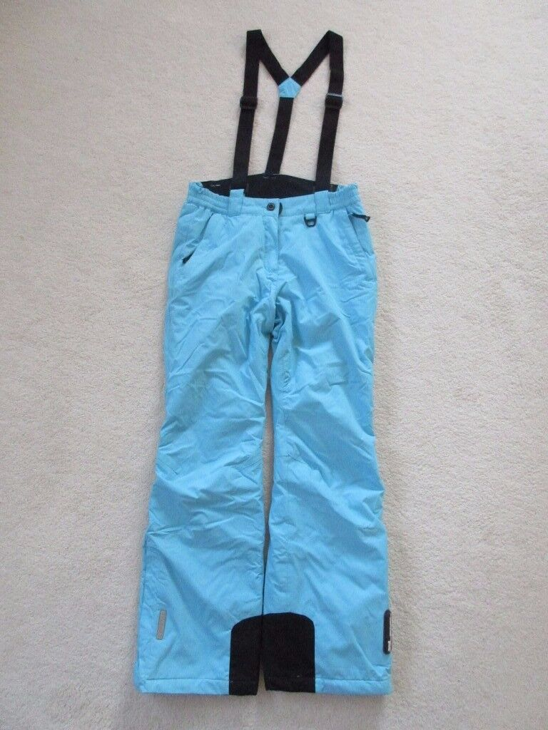 Icepeak salopettes. Very good condition. Age 13-14. Waterproof & windproof. High spec.