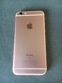iPhone 6s in rose gold 32gb.