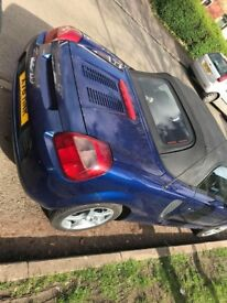 TOYOTA MR2 1.8 VVT-i BLUE ROADSTER 2000. (10 MONTH MOT) (SPARES AND REPAIRS)