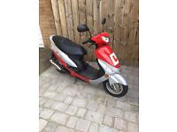 2013 Peugeot V Clic 50cc Moped Scooter Twist and Go