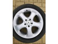 Merc alloy wheels