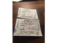 Bruno Mars Dublin Standing Tickets for Sale x2