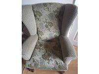 Armchair vintage/antique original upholstery mint condition