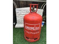 Almost FULL propane gas bottle 13kg
