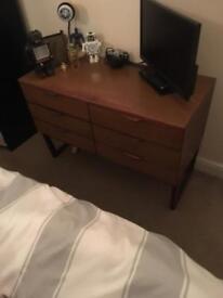 1960/70 bedroom drawers,