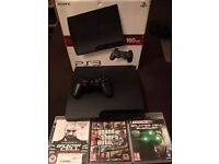 PS3 160GB CONSOLE + GAMES - MINT