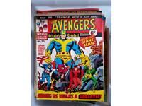 Marvel comics collection