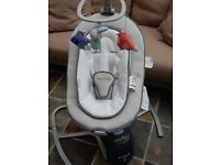 Babymoov swoon motion baby cradle / swing / rocker suitable from birth