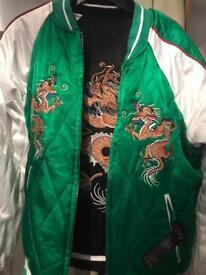 Never worn, irreversible jacket, TOPSHOP, size 8
