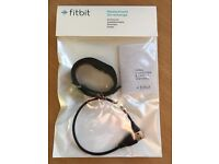 Fitbit charge HR size large, black,brand new