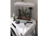 White Aquarium 29 litres