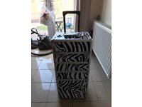 Hair/Beauty Storage Case/Tools Box on Wheels