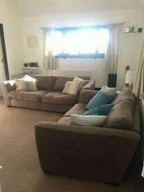 3 & 2 seater DFS sofa