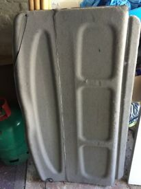 Boot cover for Citroen Picasso Xsara