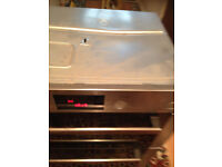 bosch fan assisted integrated double oven & grill delivery available