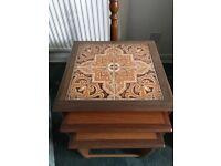 G Plan Vintage Nest of Tables
