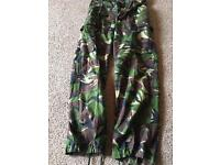 Youth army camouflage trousers