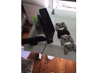 Xbox 360 + Kinect barely used