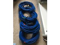 Microphone Cables Leads and Flight Case