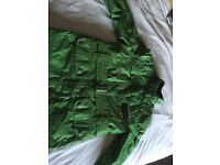 Boys green Barbour jacket size 6. Excellent condition from a smoke and pet free home.