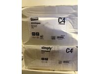 Large quantity of envelopes for sale, all boxed, most unopened, various sizes