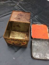 Small Old Storage Tins