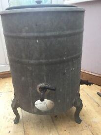 Vintage Dean Cast Iron Water Heater/Storage