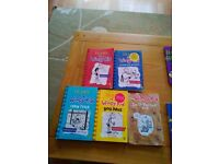 5 Diary od a Wimpy Kid books