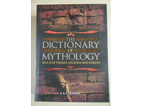 """The Dictionary of Mythology"" By J.A. Coleman. Great condition."