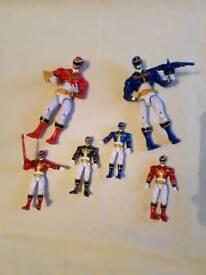 Power ranger figures