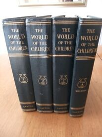 World of Children Set of four volumes