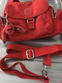 Kipling handbag red