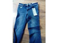 New tagged ladies bench jeans. Tagged. 26 waist, 32 inside leg