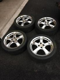 """17"""" Vauxhall fitment alloy wheels"""