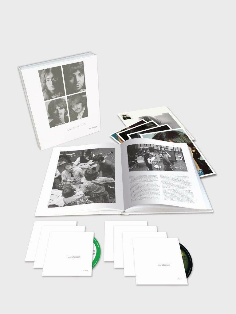 The Beatles - White Album 50th Anniversary NEW 6CD/1Blu Ray Pre-Order 09/11