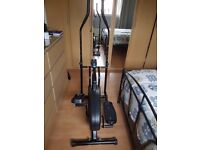 cross trainer pro fitness solid as new scan time calories speed distance