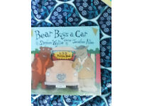 CHILDRENS BOOK BEAR BUYS A CAR