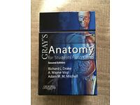 Gray's anatomy for students flash cards, like new!
